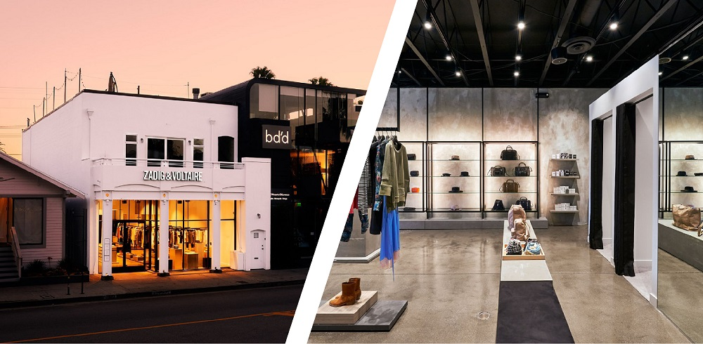 Zadig & Voltaire Abbot Kinney Los Angeles Shop