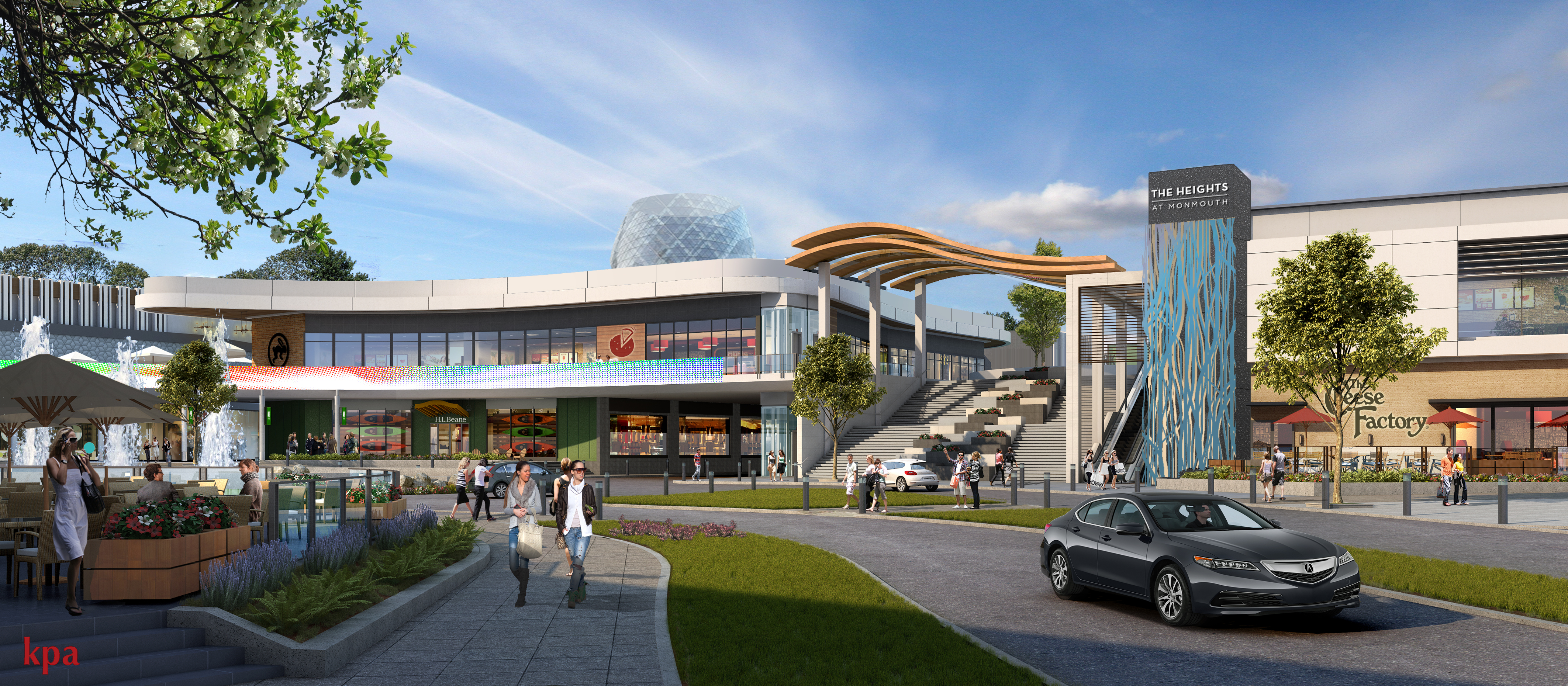 Kenneth Park Architects New Monmouth Mall Renovation To Elevate Shopping Experience