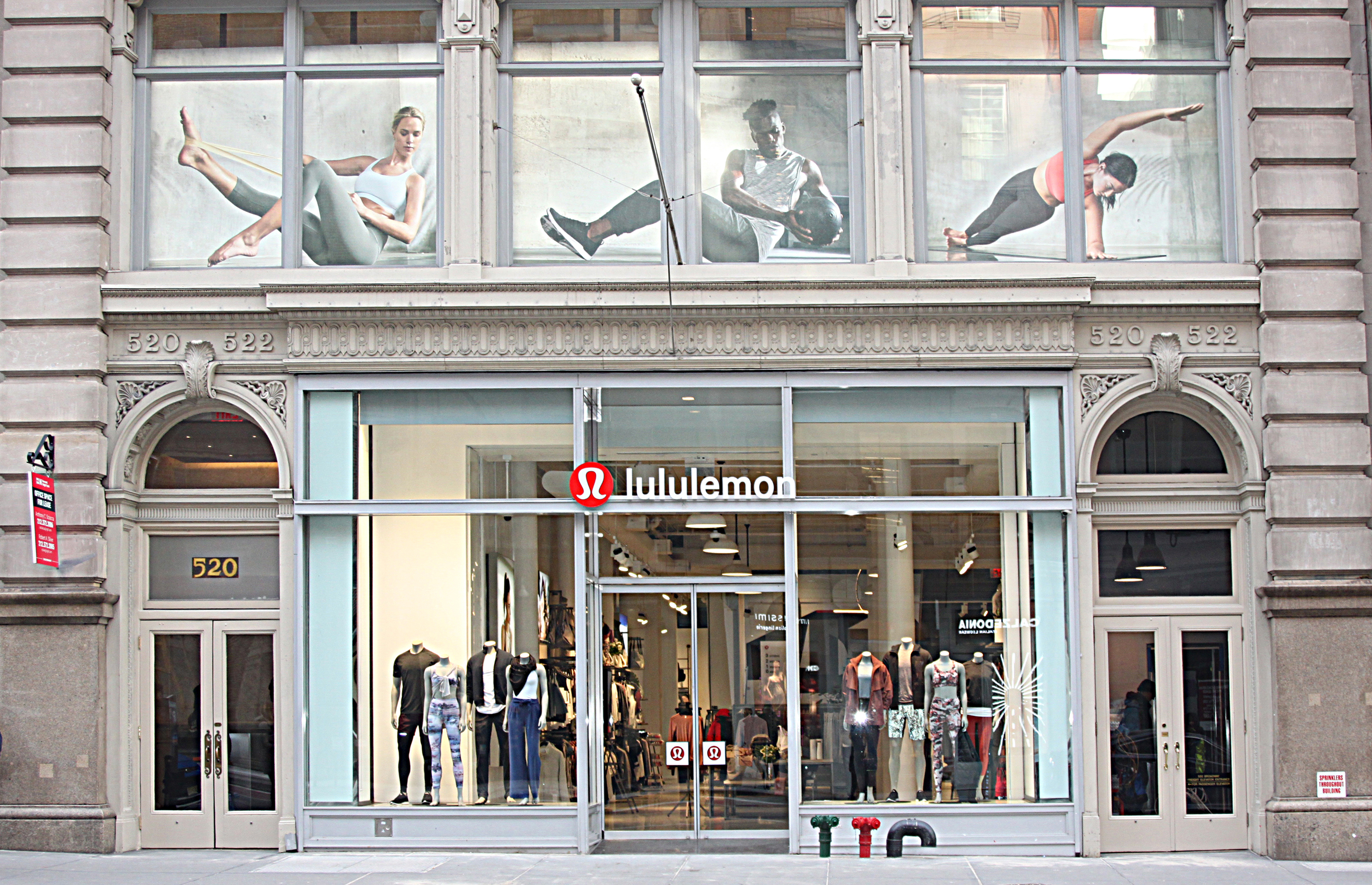 683f46c7e6c4f 22 Feb Lululemon Opens A Yoga Studio in NYC. Posted at 18 55h in Store  Opening ...
